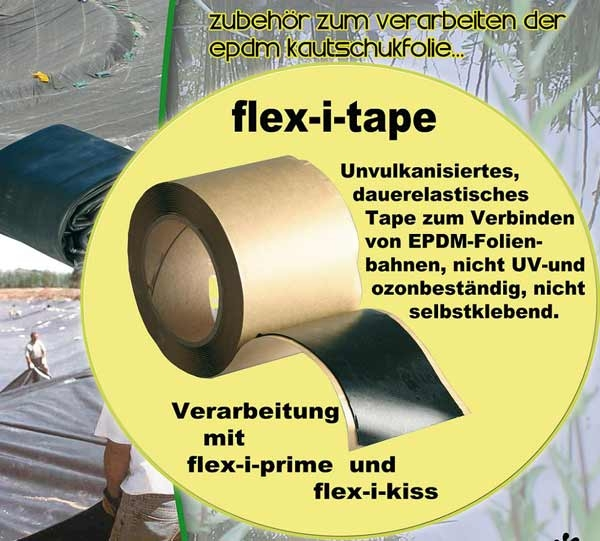 quick seam splice tape nahtf geband teichbau. Black Bedroom Furniture Sets. Home Design Ideas