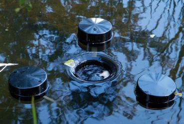 Schwimmskimmer 200 Meßner Wasseroberflächenabsauger Teichreiniger Skimmer