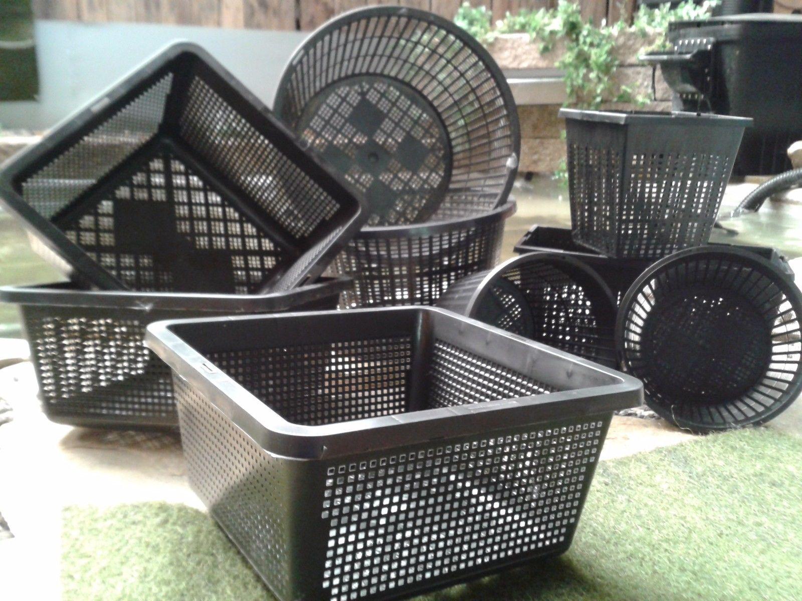 10 pflanzk rbe 4 verschiedene gr e von 11 23 cm. Black Bedroom Furniture Sets. Home Design Ideas