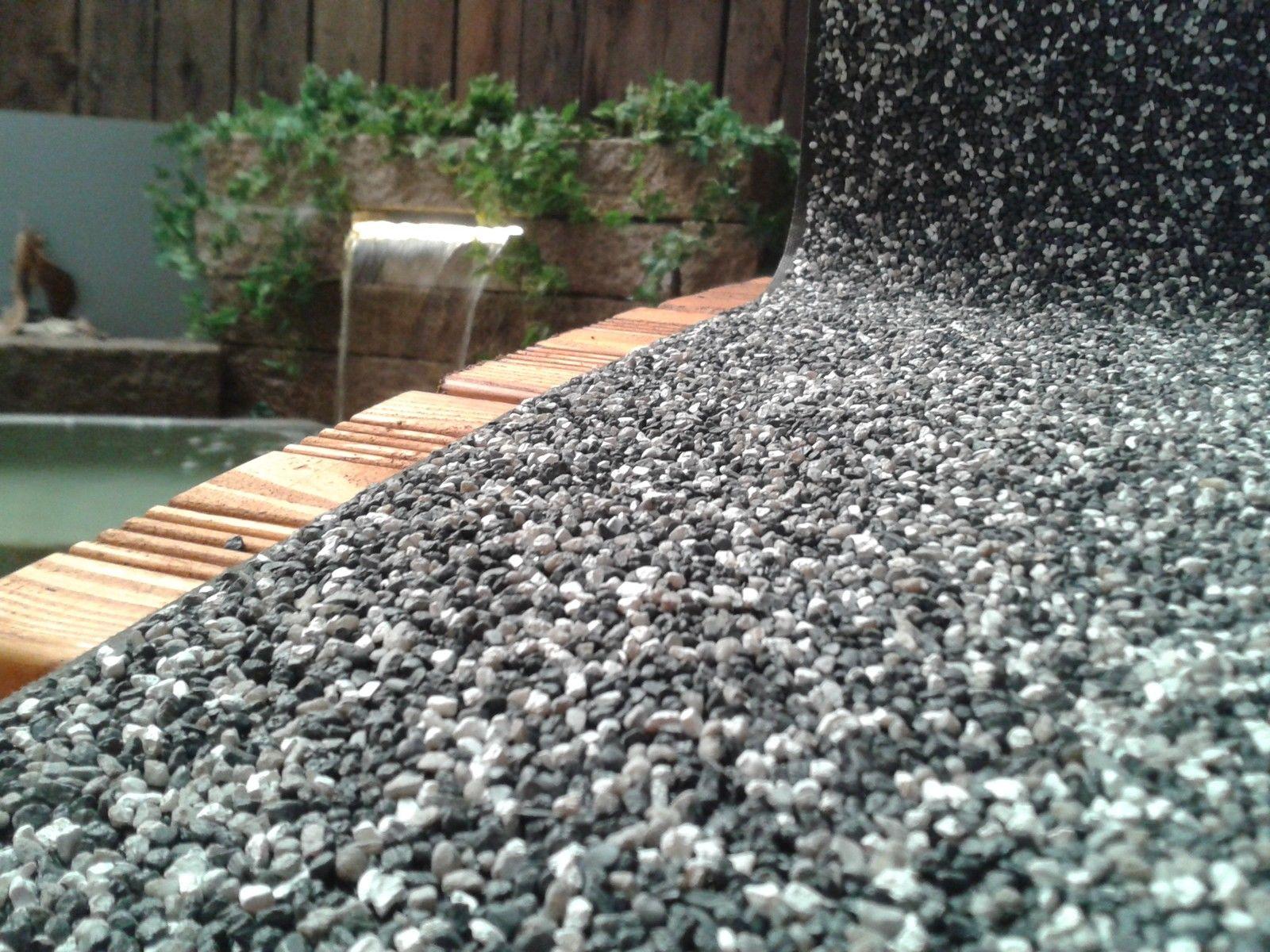 steinfolie breite 50 cm granit grau teichrand bachlauf. Black Bedroom Furniture Sets. Home Design Ideas