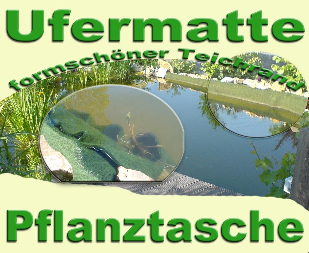 Ufermatte/Pflanztasche