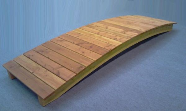 teichbr cke br cke steg teich teichbau baumaterial f r den teichbau. Black Bedroom Furniture Sets. Home Design Ideas